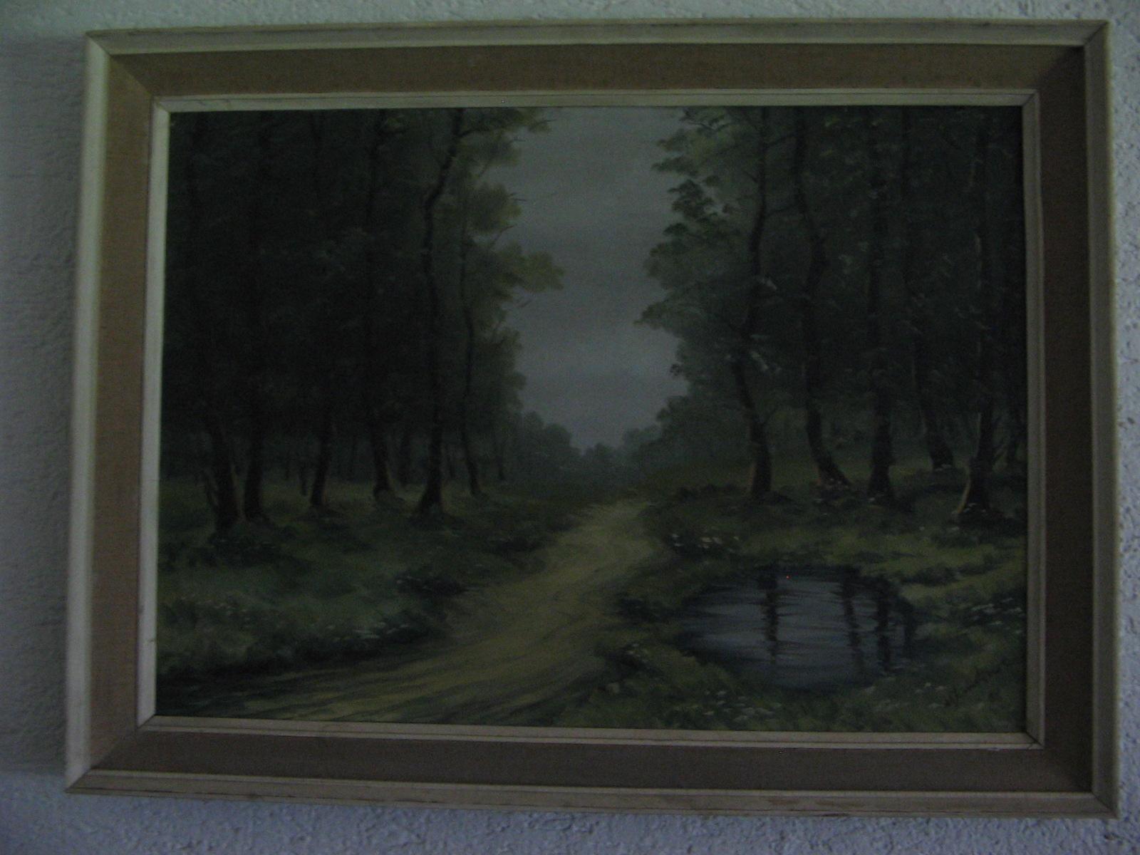 Slika, umetniška, original