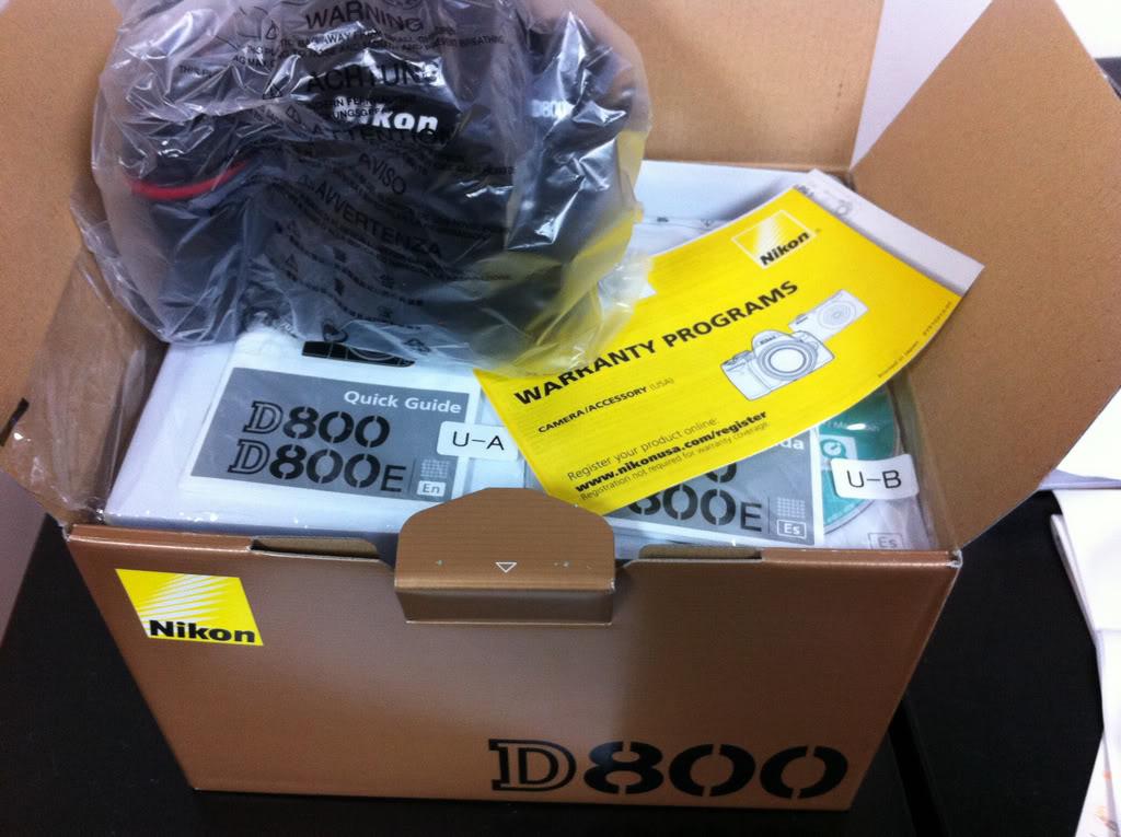 Novo Nikon D800 36.3 MP