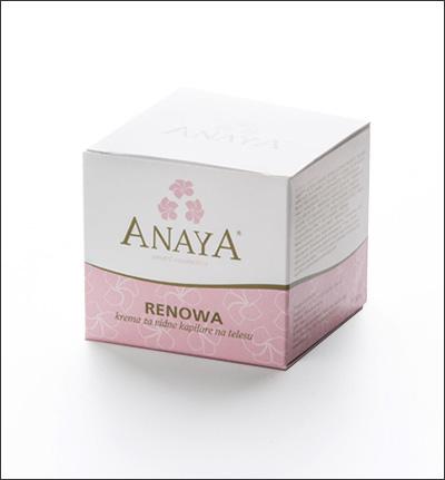 ANAYA - RENOWA, krema za telo za pordelo kožo z vidnimi kapi