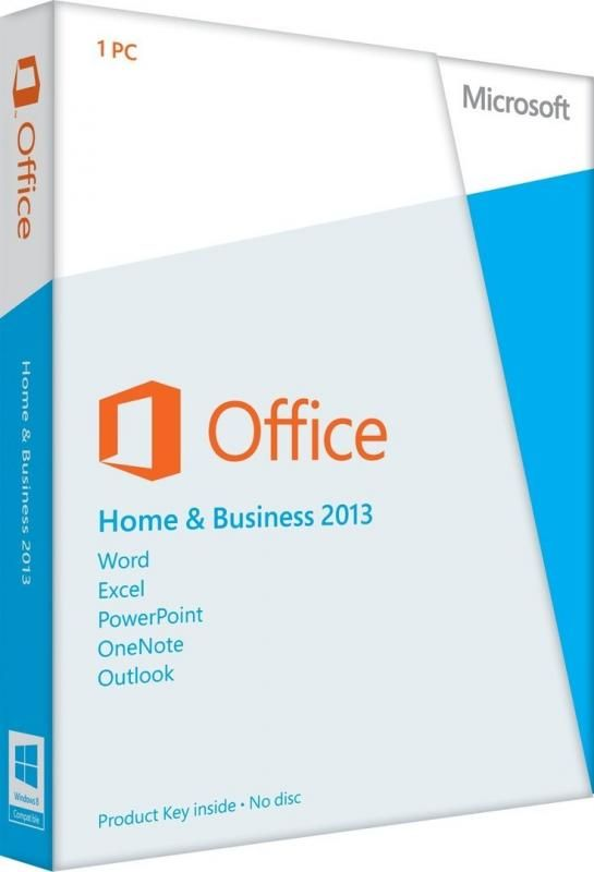 Microsoft Office Home and Business 2013 32-bit/x64