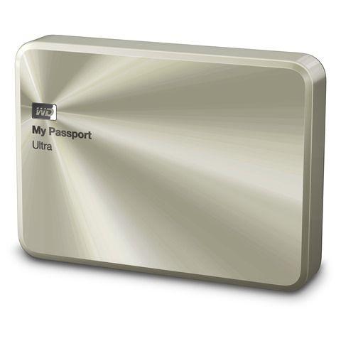 Zunanji disk WD My Passport Ultra Metal Edition 2TB zlat