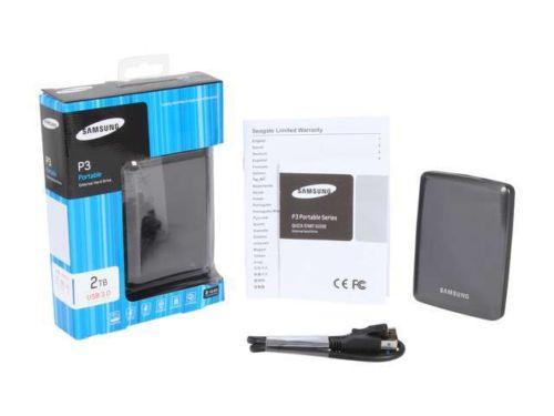 Zunanji disk Samsung P3 2TB USB 3.0 2,5